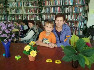 Осенние посиделки в библиотеке