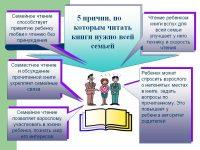 5 причин, по которым читать книги нужно всей семьей