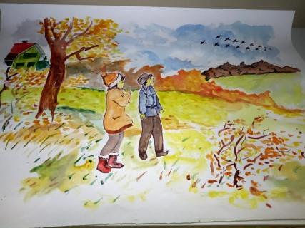 Конкурс осенних творческих работ «Листья падают шурша, как же осень хороша»
