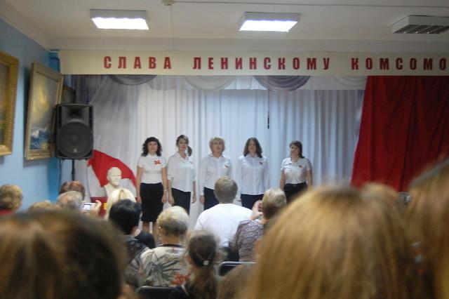 """Ночь искусств """"Комсомольская юность моя!"""""""