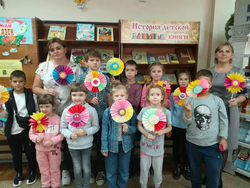 Осенние мастер-классы в Центральной детской библиотеке