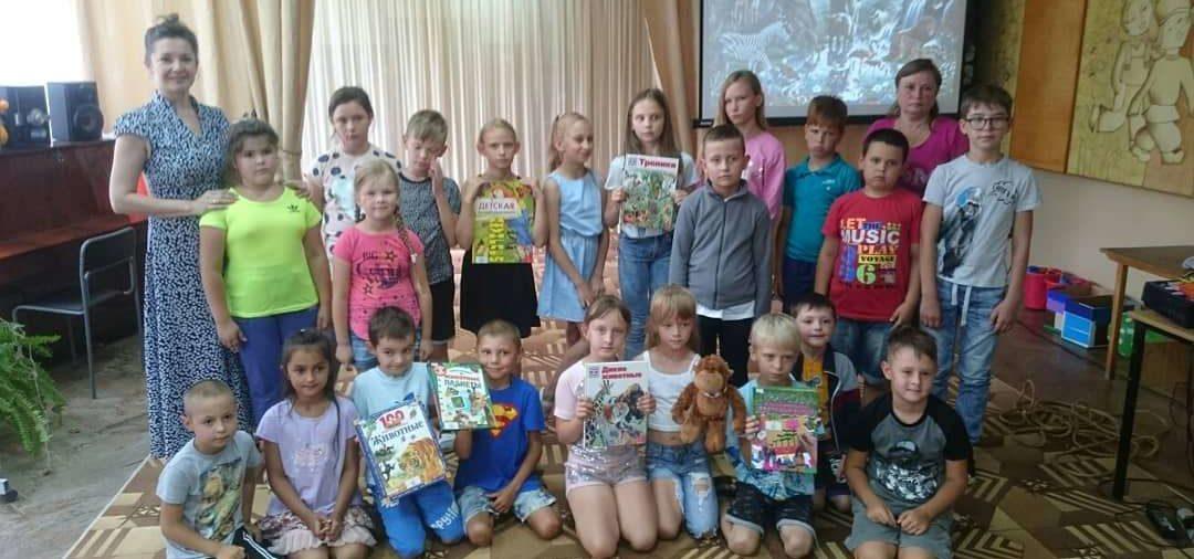 «Шоколадное» лето в центральной детской библиотеке
