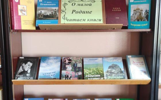 """""""О малой Родине читаем книги"""""""