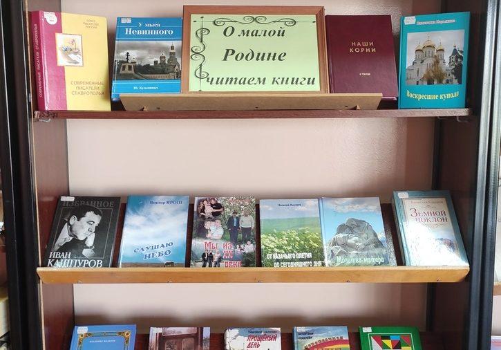 """Акция """"О малой Родине читаем книги"""" от библиотекарей"""