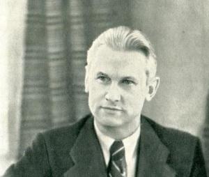 Советский писатель Александр Фадеев