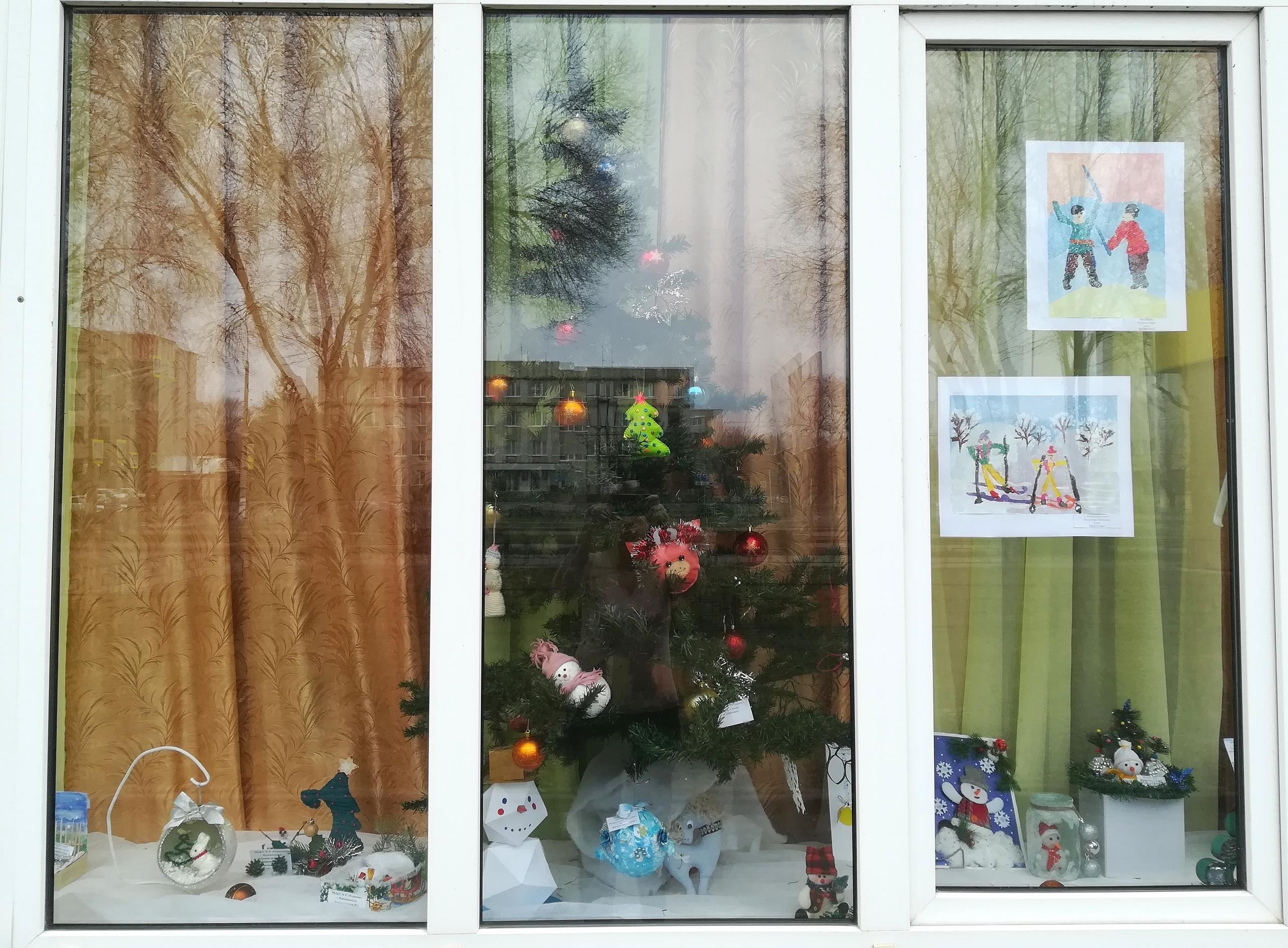 """""""Новогодние окна"""""""
